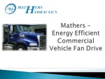 Commercial Vehicle Fan Drive (CVFD)