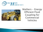 Energy Efficient Fluid Coupling - Heavy Truck